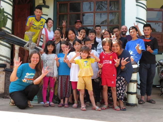 Le centre d'accueil des enfants sourds de Vientiane, Laos – 2019