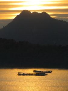 Le Mekong à Luang Prabang